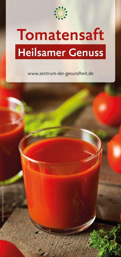 Wie man Tomatensaft macht, um Gewicht zu verlieren