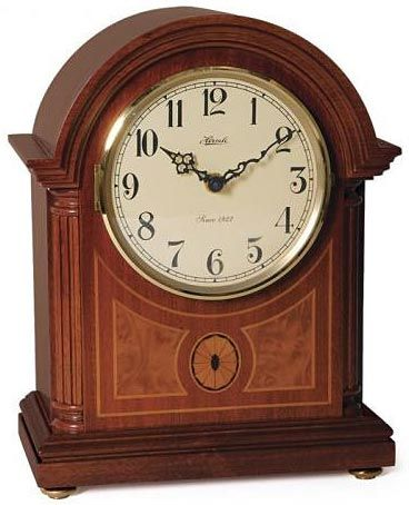 Battery Operated Chiming Mantel Clock