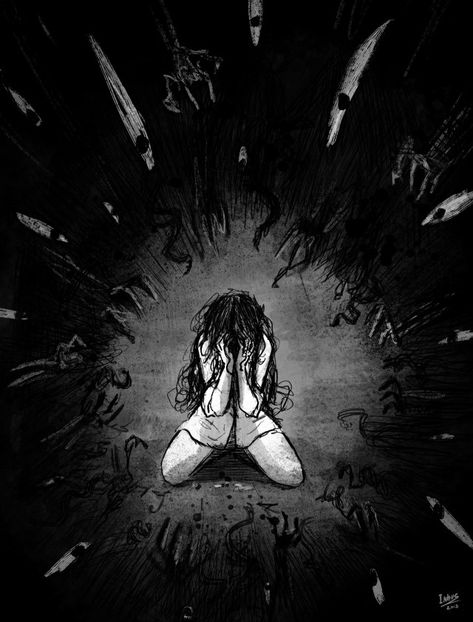 Dark art for our inner demons — vane-sya:    Depression  by  Inhus
