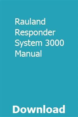 Rauland responder 3000 manual prolite x2472hd manual ebook.