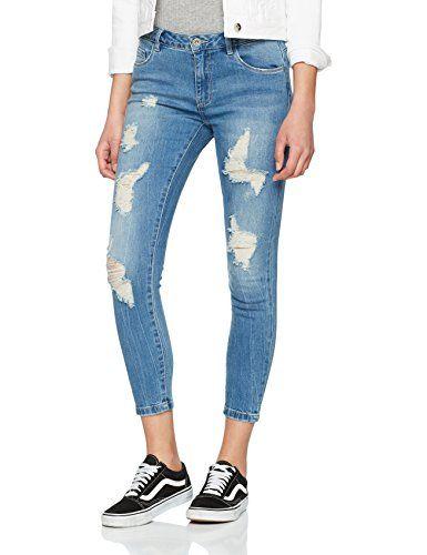 bf0c60ae7e83ef Dorothy Perkins Damen Straight Leg Straight Jeans 16 Straight Blau (Indigo)  36 (Herstellergröße: 8)   Jeans für Damen in 2019