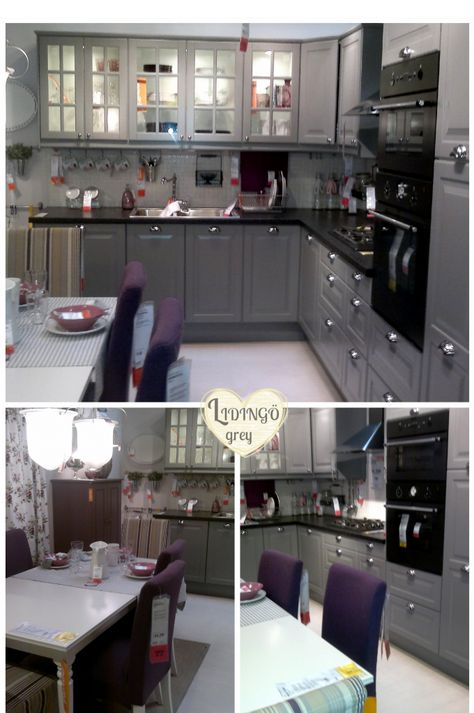 IKEA KITCHEN LIDINGO in GRAY  Kitchen  Pinterest
