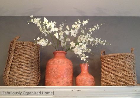 decorate above cabinets