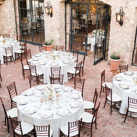 "Silverleaf Club on Instagram: ""Event season at the club is on the horizon! #silverleafclub #eventseason #weddingseason #outdoorspace #fountaincourtyard #tablescapes…"""