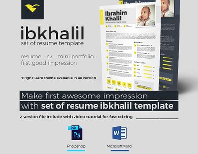 Check out new work on my @Behance portfolio  - fast resume builder