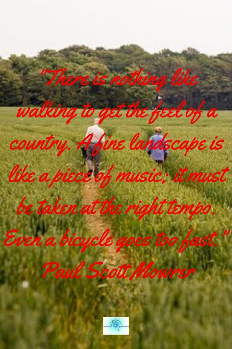 """Use this natural pain relief that soothes sore muscles, cramps, fatigue, and stress.   """"There is nothing like walking to get the feel of a country. A fine landscape is like a piece of music; it must be taken at the right tempo. Even a bicycle goes too fast. """" Paul Scott Mowrer  #healthquoteswellness #healthquotes #painreliefquotes #quotesaboutpain #quotesaboutpainhealth #naturalpainrelief #musclepainrelief #musclepainallover #wholebodyhealth #naturalpainreliefcream"""
