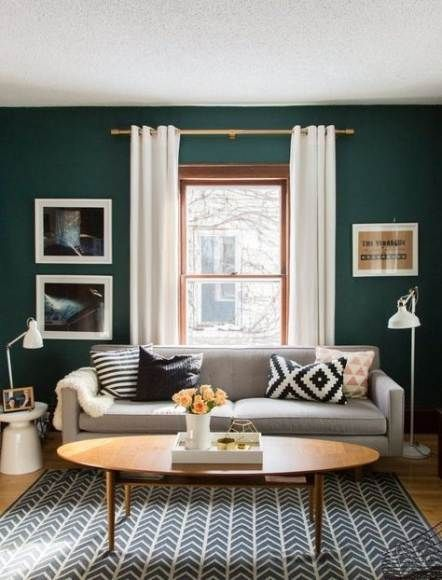 63 Ideas Living Room Wallpaper Accent Wall House Tours House