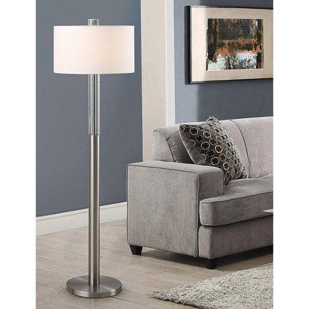 Homeglam Fusion Bubble Crystal 62 5 Inch H Floor Lamp Walmart Com Floor Lamp Lamp Cool Floor Lamps Living room floor lamps walmart