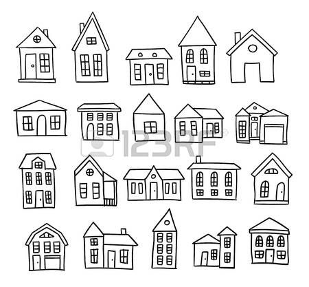 Stock Vector   How to draw hands, House doodle, House sketch on planner sheets, planner backgrounds, planner art, planner ideas, planner brands, planner love, planner templates, planner fun, planner paper, planner stamps, planner icons, planner quotes,