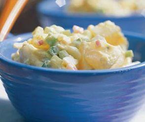 Aardappelsalade met spek (bijgerecht)