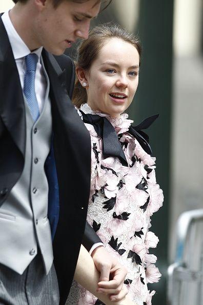 188f271ee74d Princess Alexandra of Hanover during the wedding of Prince Christian ...