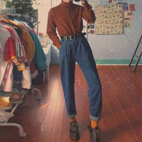 Casual Striped Slim Denim Pants