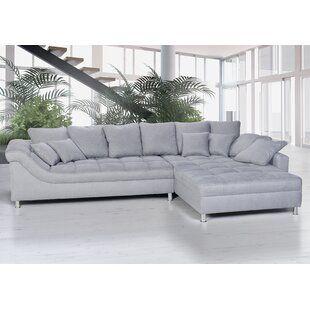 Zipcode Design Ecksofa Lorenzo Mit Bettfunktion Wayfair De In 2020 Sofa Sofa Design Outdoor Sectional Sofa