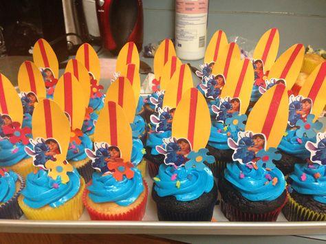 Lilo & stitch cupcakes
