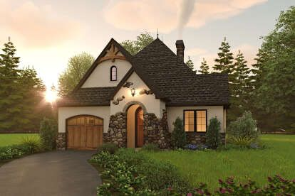 House Plan 2559 00915 Cottage Plan 1 285 Square Feet 2 Bedrooms 2 Bathrooms In 2021 Cottage House Plans Cottage Style House Plans Cottage Style Homes