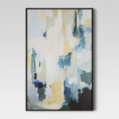 24 X36 Framed Printed Canvas Project 62 Target Canvas Art Wall Decor Canvas Projects Modern Canvas Art
