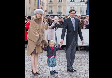 Le comte et la comtesse Rodolphe de Limburg Stirum, née archiduchesse Marie-Christine d'Autriche