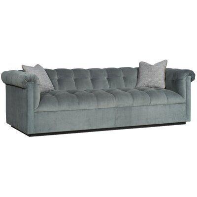 Vanguard Furniture Nottingham Chesterfield Sofa Upholstery Color Nadia Parchment Leg Color Havana Sofa Furniture Sofa Upholstery