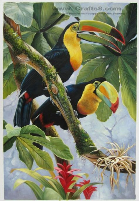 40 Outstanding Oil Painting on Animals 17