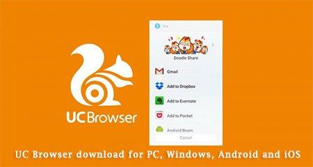 UC Browser download, for PC, Windows, Android and iOS | Uc