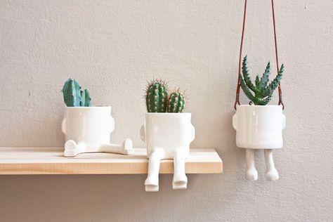 Ceramic pot Basic Sitting Size S by wacamoleceramic on Etsy