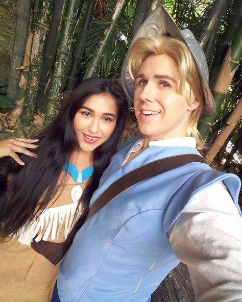 Disney Cosplay Pocahontas and John Smith from Pocahontas- 31