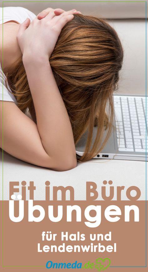 Fit im Büro: Übungen für Hals und Lendenwirbel.  (Bildquelle: istock)