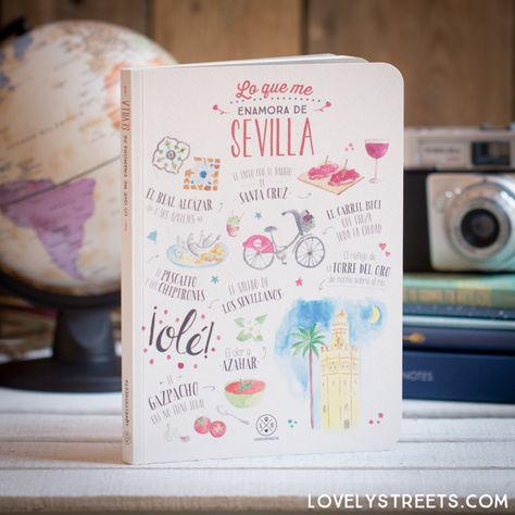 Libreta Lovely Streets - Lo que me enamora de Sevilla - Mr. Wonderful #mrwonderful #mrwonderfulshop #mrwonderfulUK #lovelystreets #travel #adventure #wanderlust #traveltheworld #travelblogger #seville #sevilla #spain