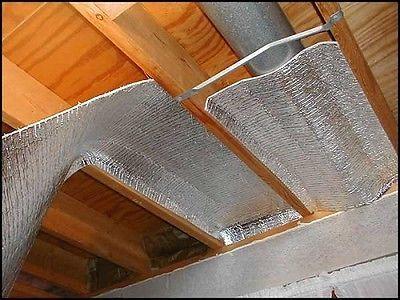 1000sqft Nasa Tech 1 4 Perf Reflective Foam Core Crawl Space Basement Insulation Basement Insulation Crawl Space Insulation Reflective Insulation