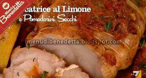 Pescatrice Al Limone E Pomodorini Secchi La Ricetta Di Benedetta
