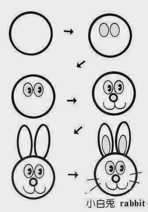 учимся рисовать для самых маленьких картинки смыслу