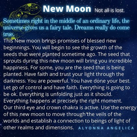 "Alyonna Angelica Official on Instagram: ""New Moon 13th March 2021 . . . . . #alyonnaangelica #dailyoracle #dailyguidance #dailyaffirmation #dailyinspiration #dailyquotes…"""