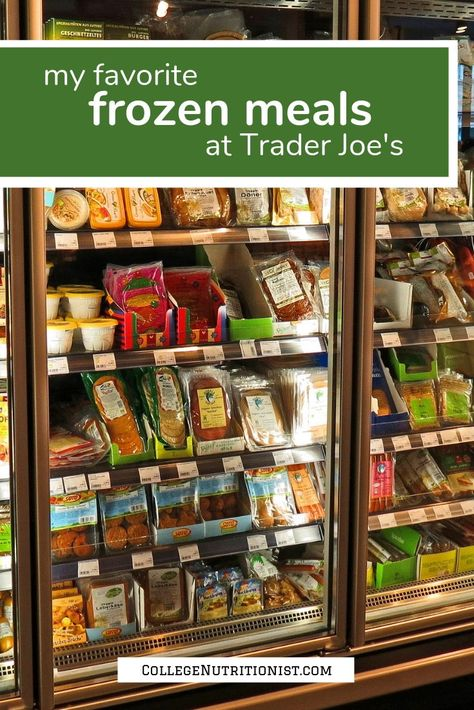 Some Of My Favorite Frozen Meals At Trader Joe S With Images