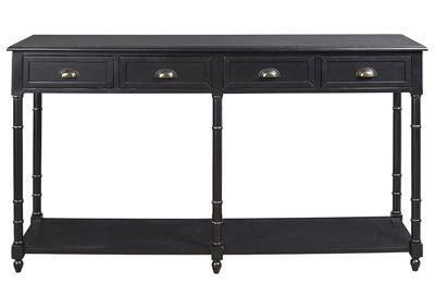 Eirdale Black Console Sofa Table Category Living Room Eirdale