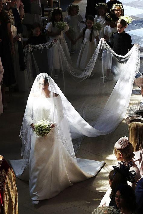 Secreto Revelado Así Es El Vestido De Novia De Meghan