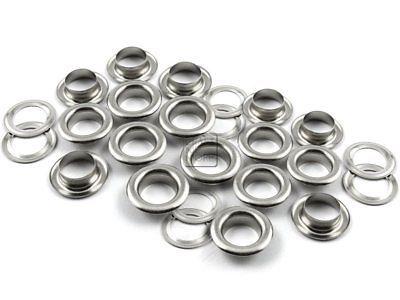 4mm Silver Metal Eyelet 1000 PCS