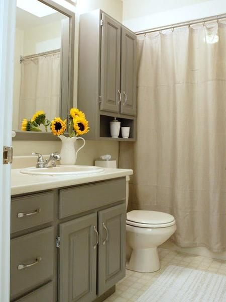 Small Bathroom Ideas Shower Spaces Neutral Shower Curtains