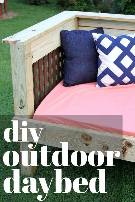 Outdoor Daybed Diy Project Perfect Outdoor Sofa And Daybed