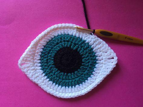Talisman Eye Crochet Pattern