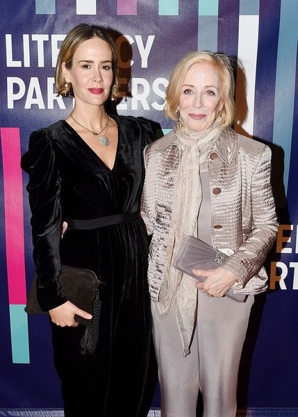 Sarah Paulson and Holland Taylor attend the 2018 Literacy Partners Gala.