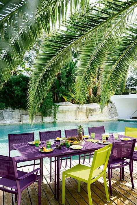 Collection Costa - Fermob - mobilier de jardin   Salle à ...