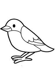 malvorlagen vogel im winter