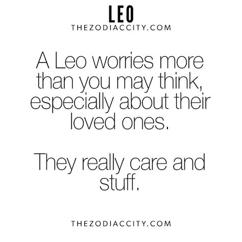 facts about leo horoscope