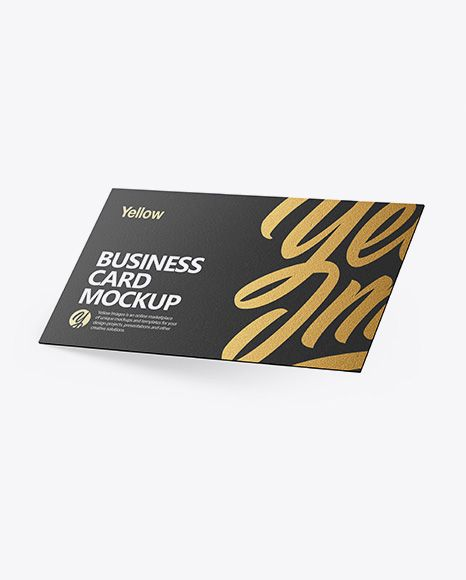 Download Textured Business Card Mockup In Stationery Mockups On Yellow Images Object Mockups Business Card Mock Up Business Card Texture Mockup Free Psd PSD Mockup Templates
