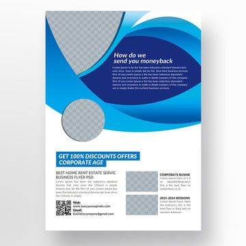 Corporate Flyer Template Corporate Flyer Flyer Template Leaflet Template