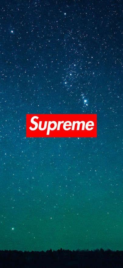 Supreme Wallpaper Blue Starry Sky 1125 2436 In 2020 Supreme Wallpaper Iphone Wallpaper Chanel Wallpapers