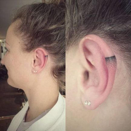Tattoo tiny arrow behind ear 40+ Ideas
