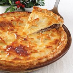 Mom's tourtière. This Acadien staple makes a wonderful meal during the holidays.