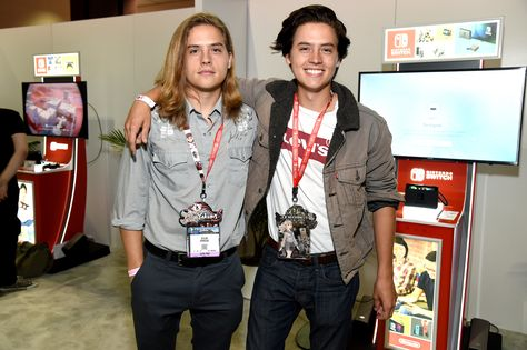 Cole and Dylan Sprouse Reunite and They Look So Different Now