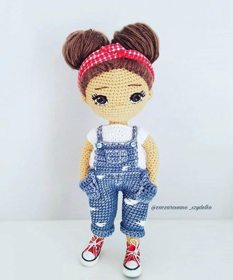 Amigurumi doll. (Inspiration). | Knitted dolls, Amigurumi doll ... | 570x473
